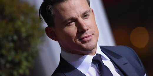 Channing Tatum arrives at the premiere of Universal Pictures' 'Hail, Caesar!