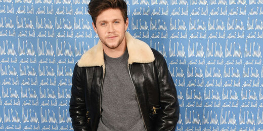 Niall Horan wearing Paul Smith attends the Paul Smith AW20 50th Anniversary show