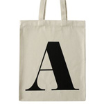 Alphabet letter bag - Credit: AlphabetBags.com