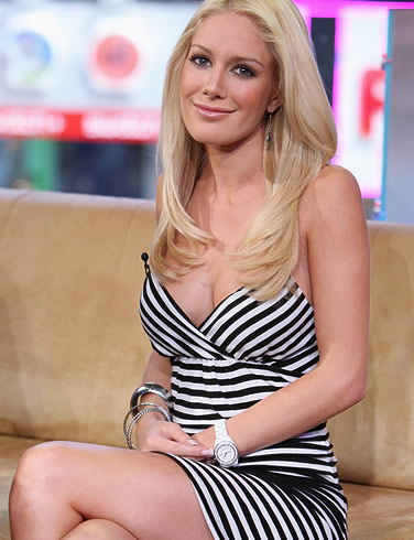 Heidi Montag long blonde hairstyle pictures