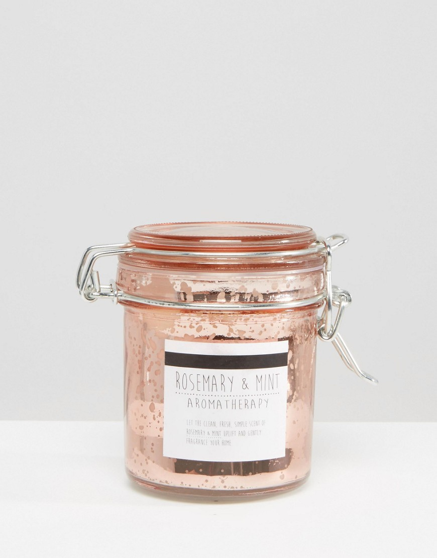 New Look Rose Gold Jar Candle