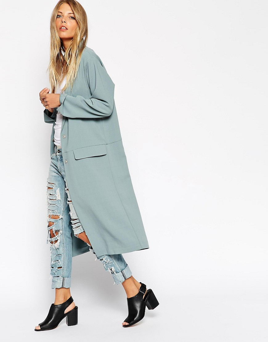 Image 1 of ASOS Duster Coat