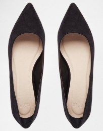 Image 3 ofASOS LOST Pointed Ballet Flats