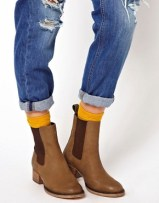 Image 3 ofASOS ADVERSE Leather Chelsea Ankle Boots