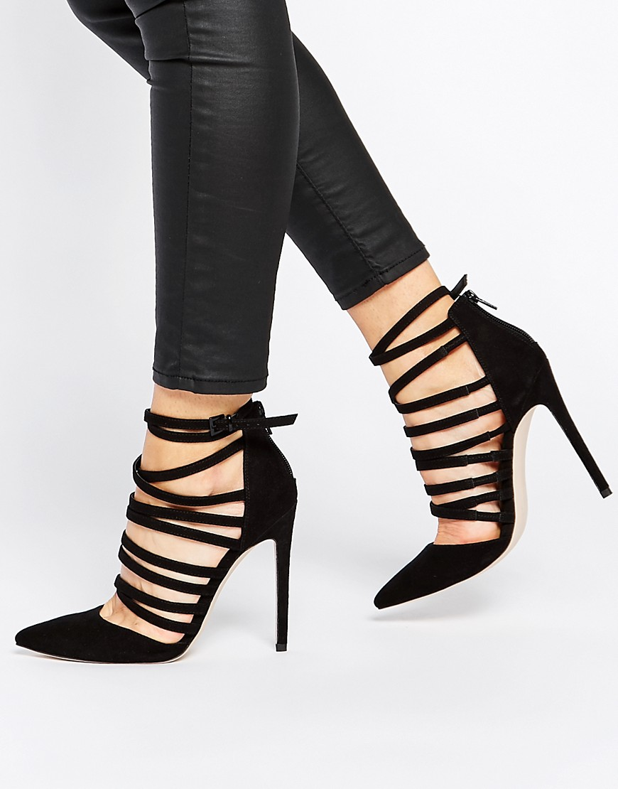 Image 1 of ASOS PROMOTE Pointed High Heels