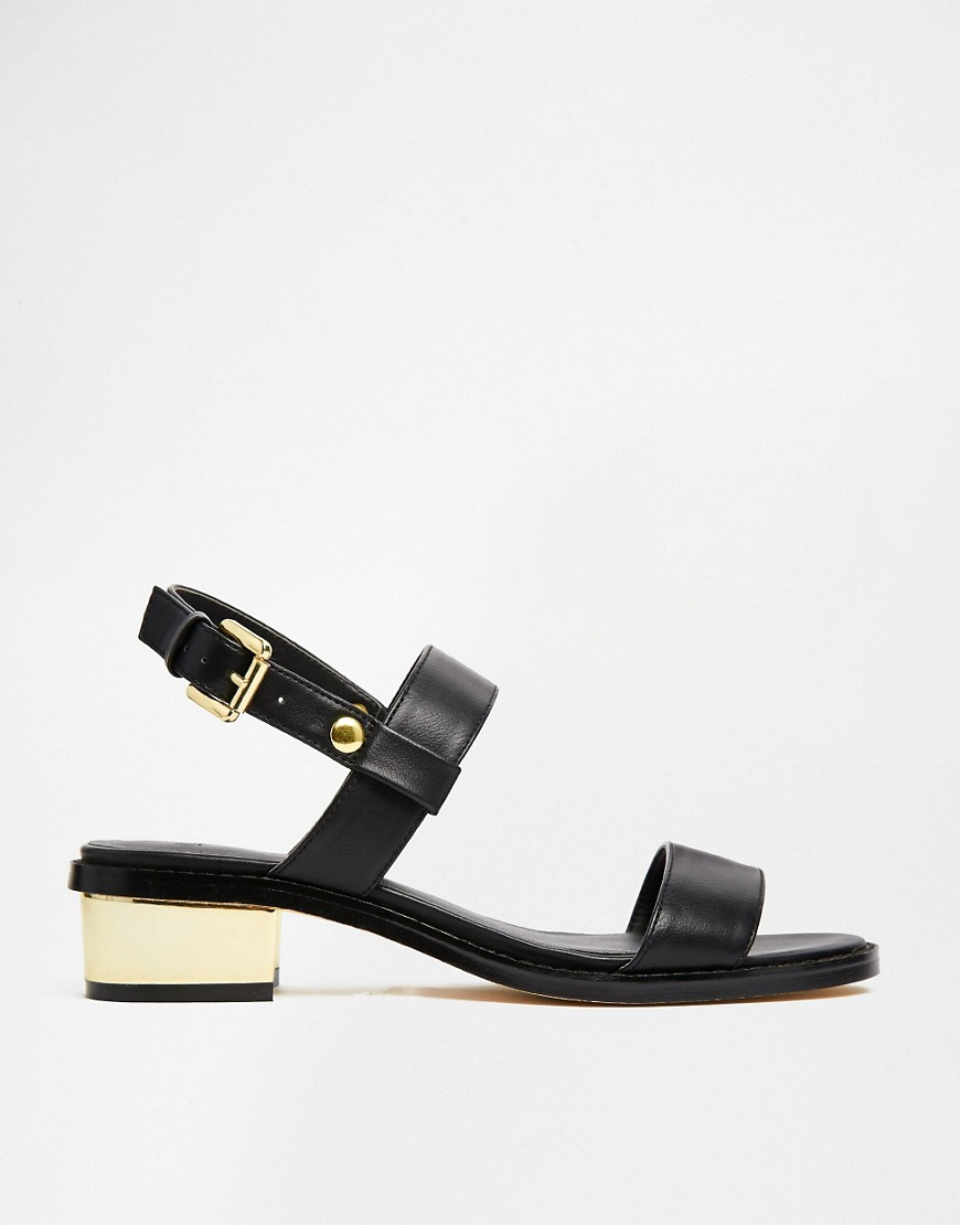 Image 2 of ASOS FANCIFY Two Strap Sandals