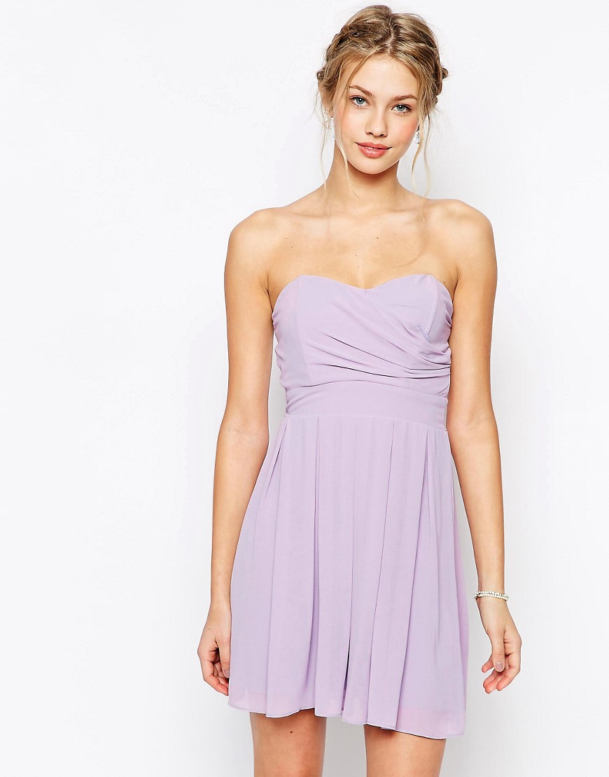 Image 1 of TFNC Prom Dress In Pleated Chiffon
