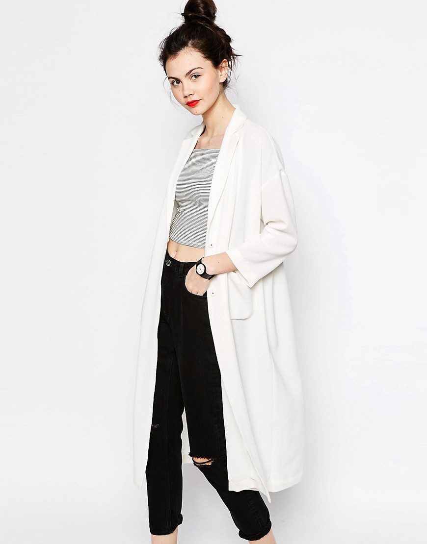 Image 1 of Monki Duster Coat
