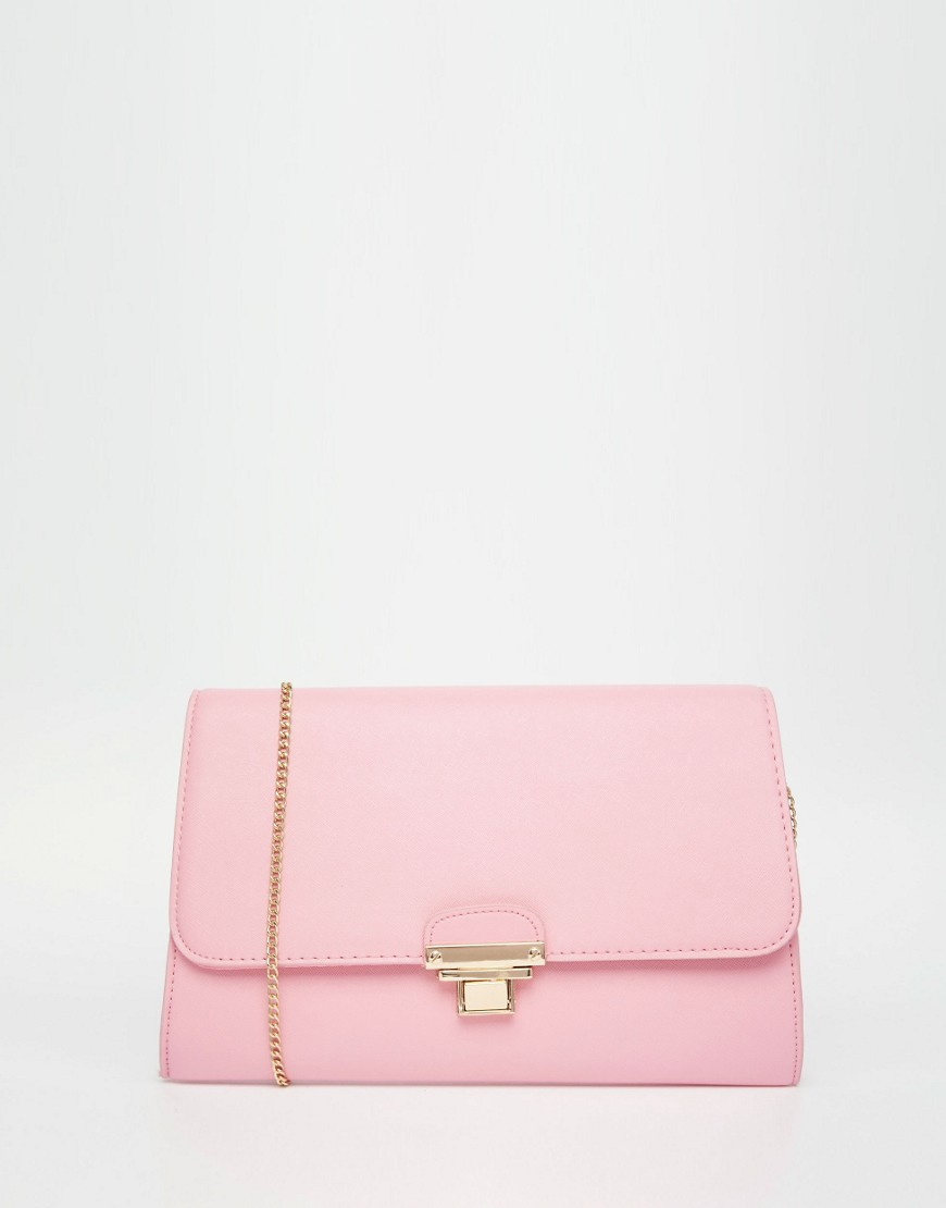 Image 1 of New Look Push Lock Connie Clutch