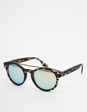 Jeepers Peepers Round Mirror Sunglasses