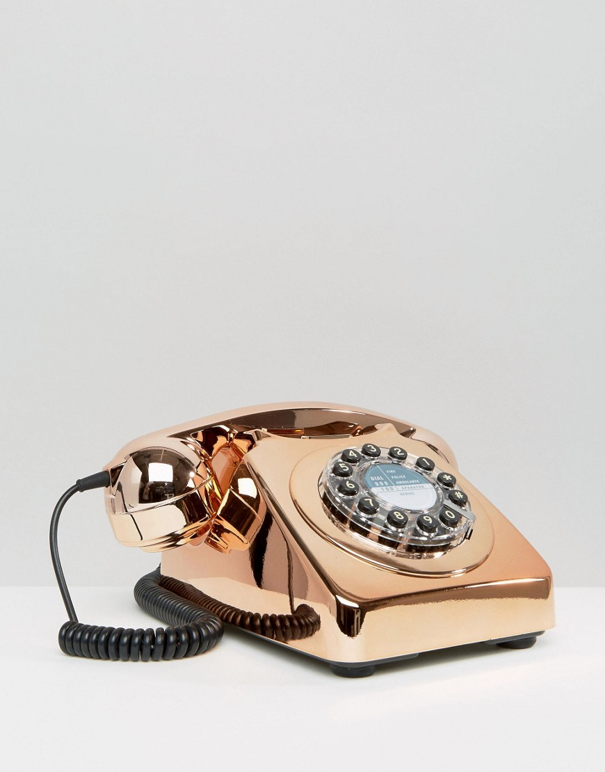 Wild & Wolf Rose Gold Telephone