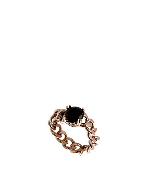 Image 1 ofLimited Edition Chain Stone Ring