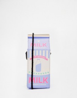 Image 1 of Skinnydip Milk Across Body Bag Unique And Quirky Gift Ideas Any Odd Person Will Appreciate (Fun Gifts!)