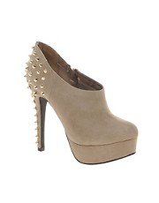 New Look Wag Beige Studded Shoe Boots