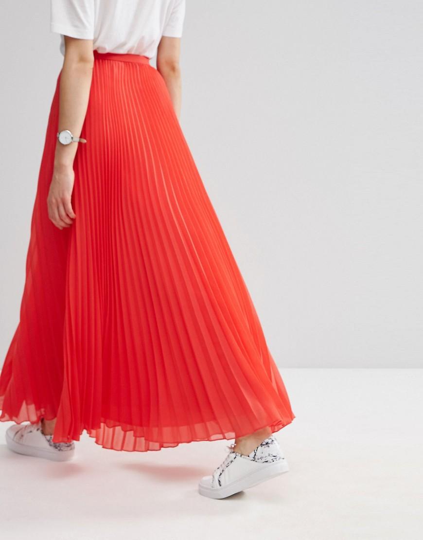Image 2 - ASOS - Jupe longue plissée