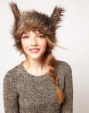 ASOS Fur Ears Headband