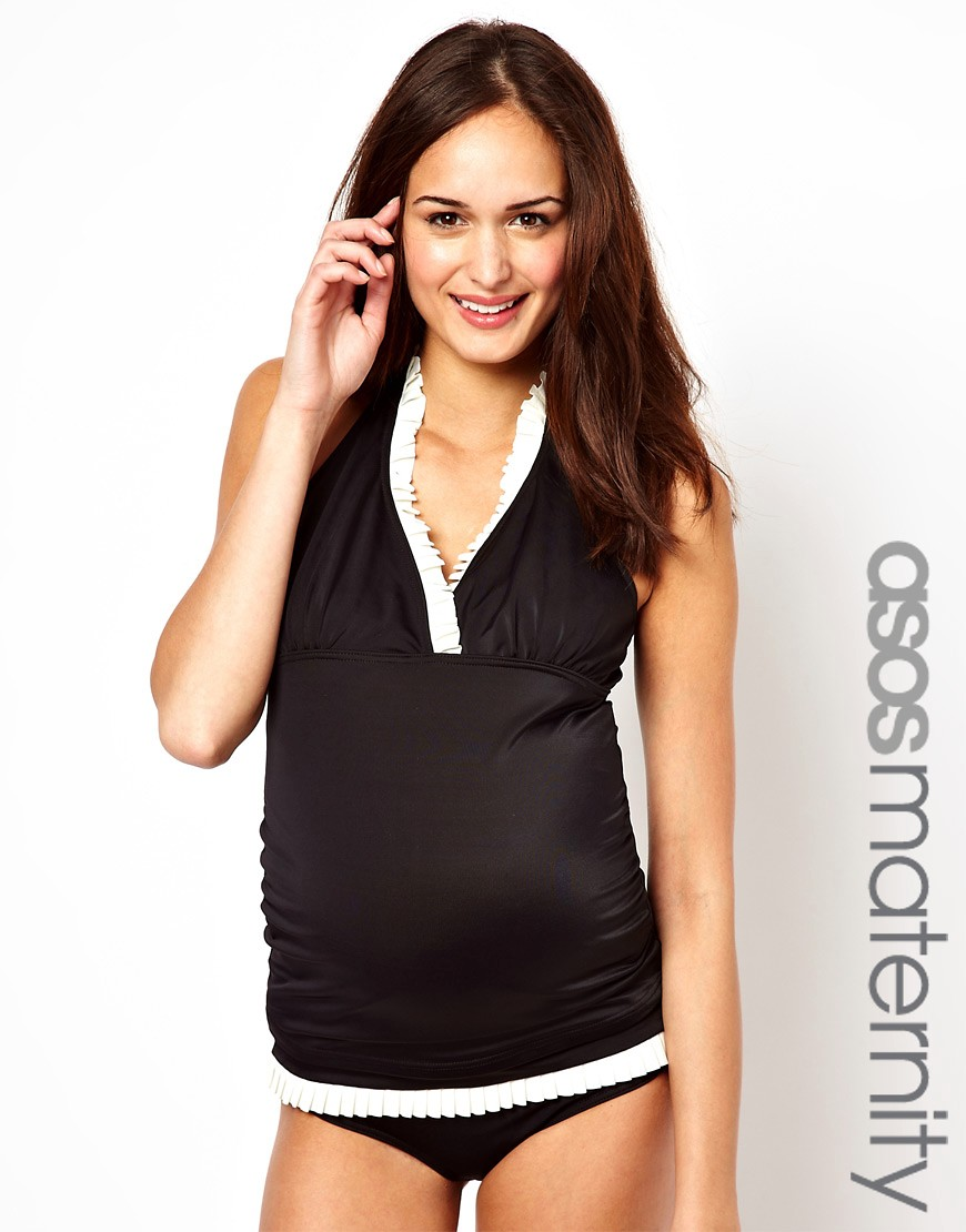 e838f945017f0 ... I clearly had not seen how bad a clearly not pregnant model wearing a  fake belly could make something look. Cue the maternity swimwear range from  Asos: