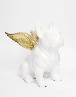 Image 1 of White Bulldog Money Pot cheap gift ideas for teen girls