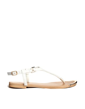 New Look Coco White Flat Sandals
