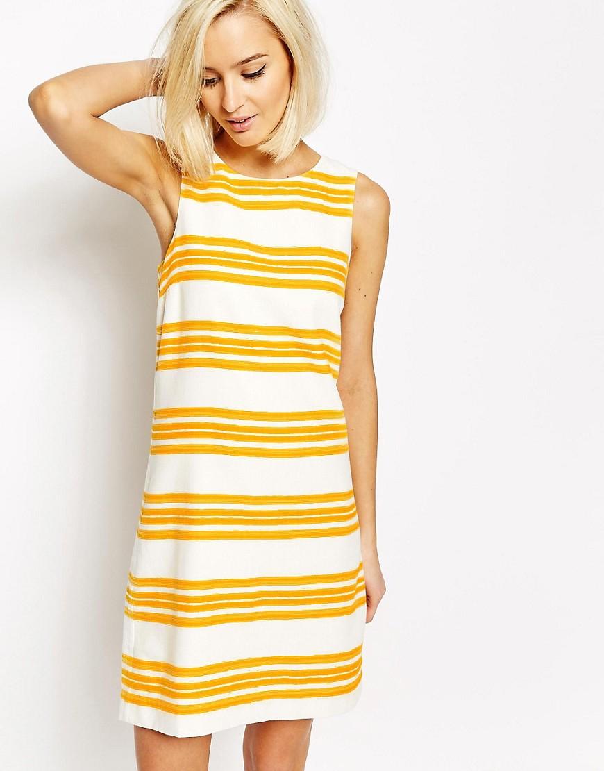 Image 1 ofVero Moda Stripe Shift Dress