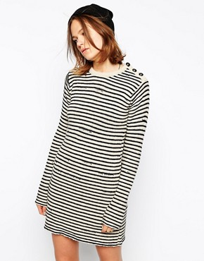 Image 1 ofZadig and Voltaire Knitted Dress in Stripe