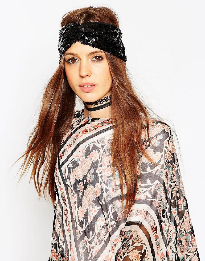 Image 1 ofASOS Sequin Turban
