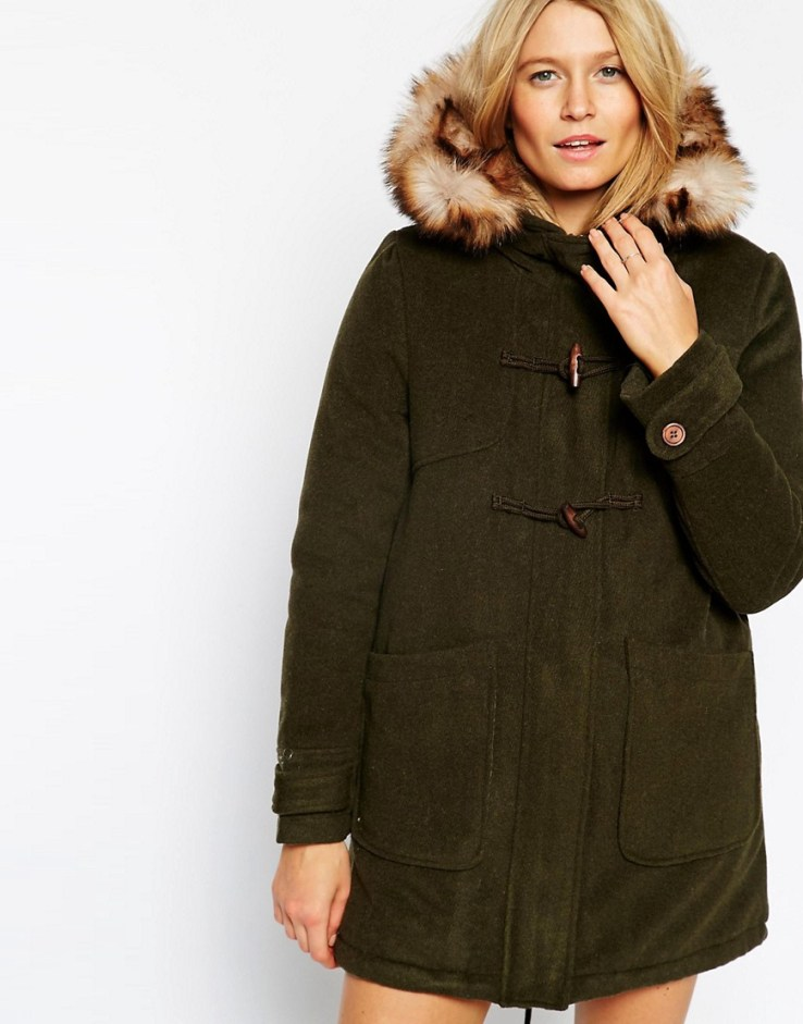 shearling coat flares how to wear