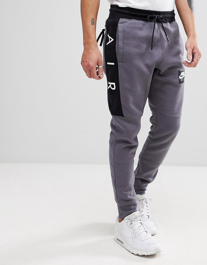 Nike Air - Enge Jogginghose in Grau, 886048-021 - Grau