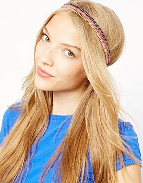 Image 1 of John & Pearl Threaded Headband