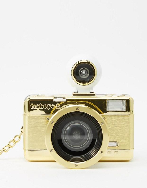 Image 2 ofLomography Fisheye 2 Gold Camera