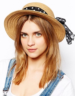 Pull&Bear Boater Hat
