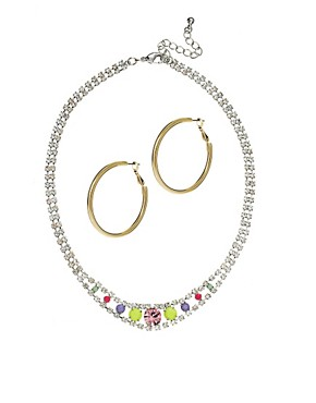 ASOS Hoop & Necklace Multipack