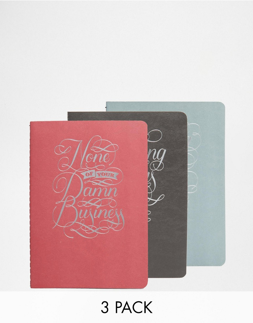 Image 1 of None Of Your Damn Business Notebook Collection Unique And Quirky Gift Ideas Any Odd Person Will Appreciate (Fun Gifts!)
