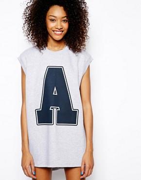 Image 1 ofDaisy Street Sleeveless Oversized Sweater Dress