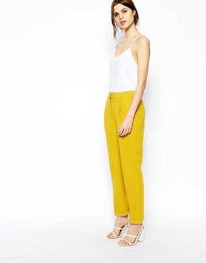 Image 1 of ASOS Clean Peg Trousers