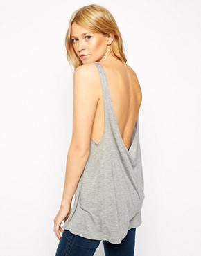 Image 1 of ASOS Tank with Low Scoop Back