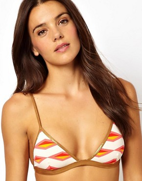 Marc By Marc Jacobs Bound Triangle Bikini Top