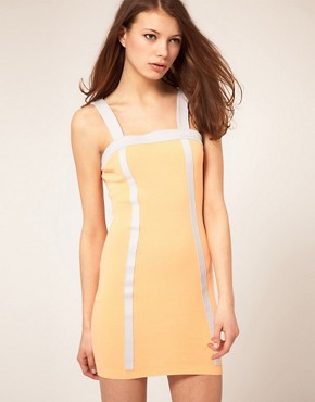 ASOS Drop Back Knitted Dress