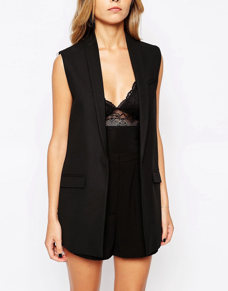 Image 3 of Mango Sleeveless Blazer