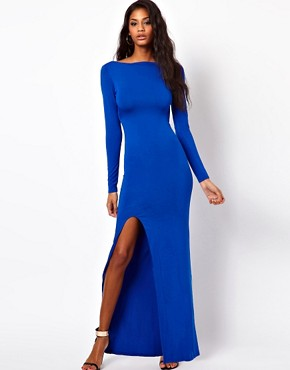 Image 1 of ASOS Maxi Dress With Sexy Split
