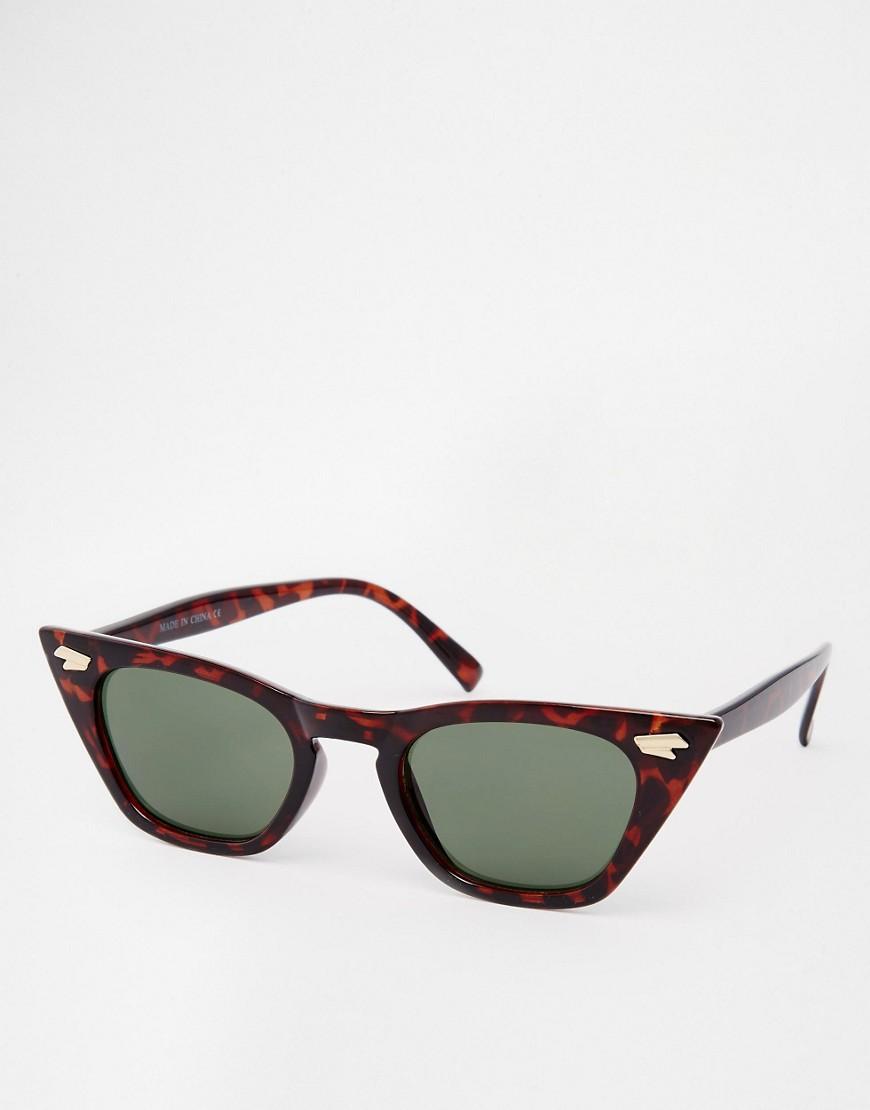 Imagen 1 de Gafas de sol ojos de gato puntiagudas de ASOS