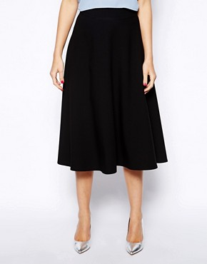 Image 4 of Love Midi Skater Skirt