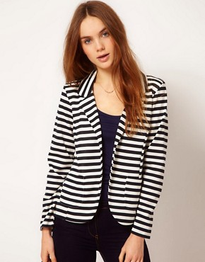 Image 1 ofA Wear Stripe Blazer