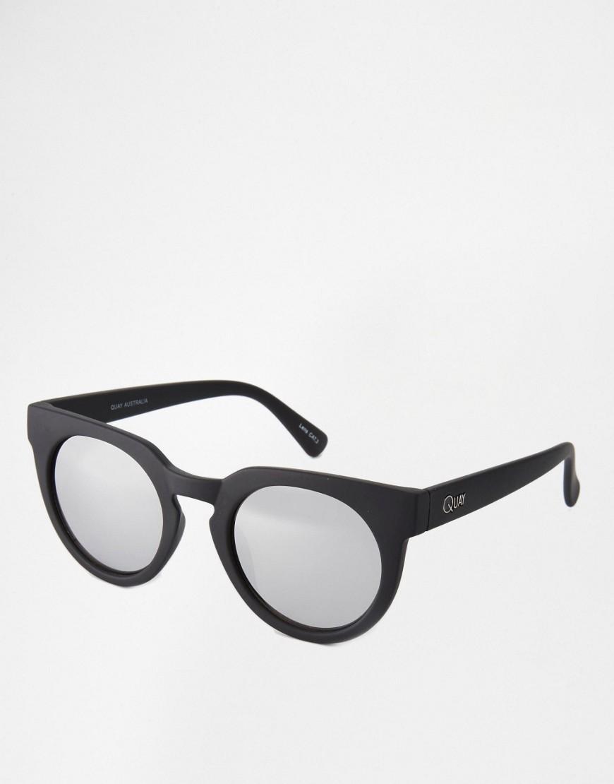 Image 1 ofQuay Australia Class of 89 Round Mirror Lens Sunglasses