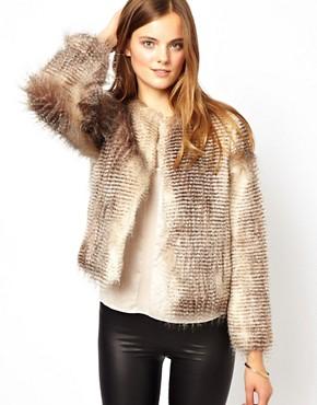 Image 1 - Unreal Fur - Veste courte à rayures