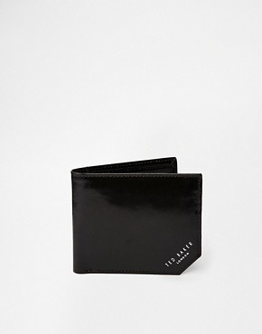 Image 1 of Ted Baker Dornas Leather Billfold Wallet