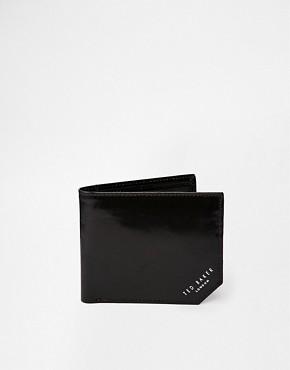 Image 1 ofTed Baker Dornas Leather Billfold Wallet