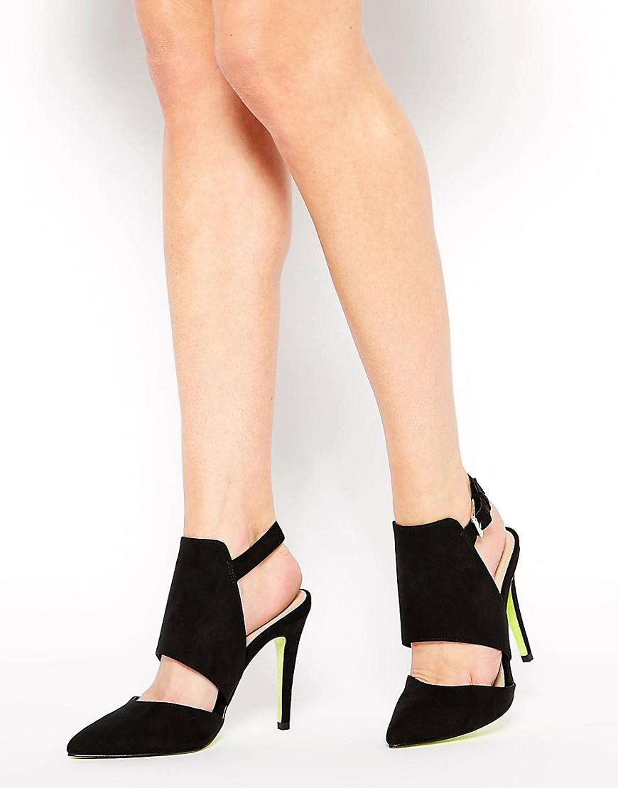Image 1 ofCarvela Gerald Cut Out Heeled Shoes