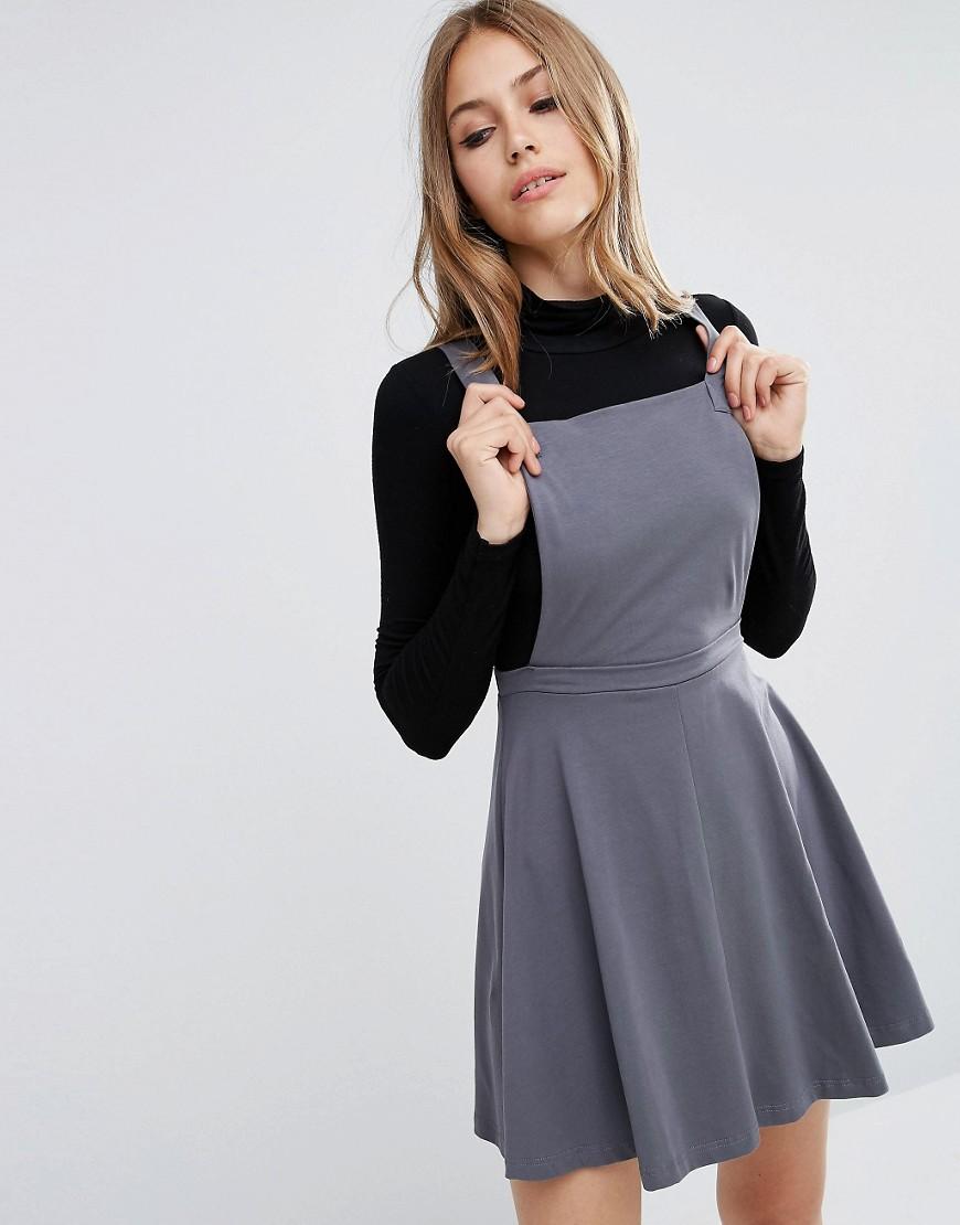 Image 1 ofASOS Pinafore Dress