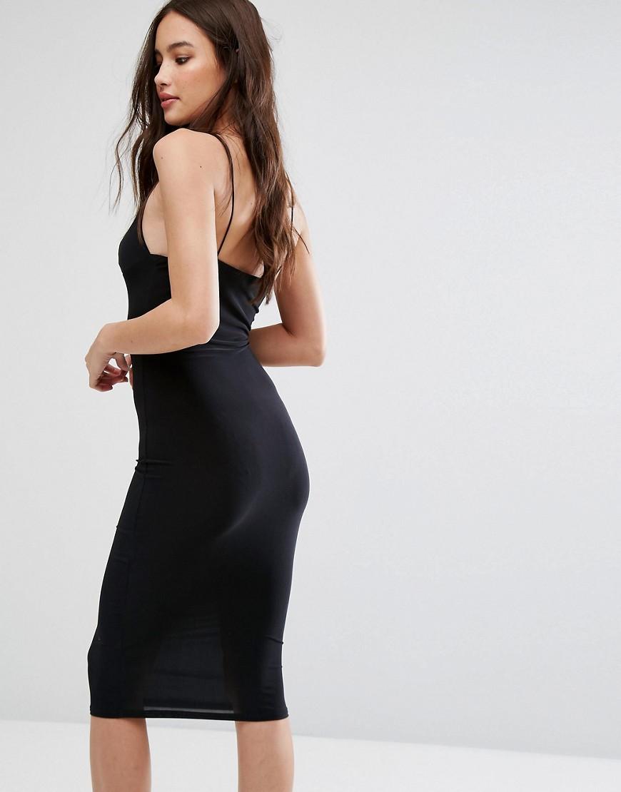 Image 2 ofClub L Midi Dress with Cami Strap